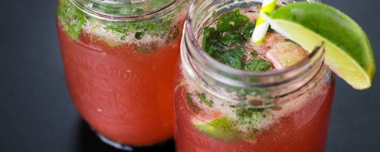 Virgin Raspberry Mojito